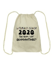LITERACY COACH Drawstring Bag thumbnail