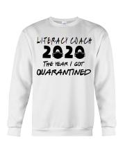 LITERACY COACH Crewneck Sweatshirt thumbnail