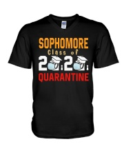 SOPHOMORE CLASS OF 2020 V-Neck T-Shirt tile