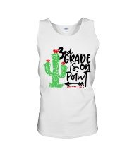 3RD  GRADE IS ON POINT Unisex Tank tile