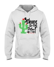3RD  GRADE IS ON POINT Hooded Sweatshirt thumbnail