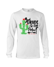 3RD  GRADE IS ON POINT Long Sleeve Tee thumbnail