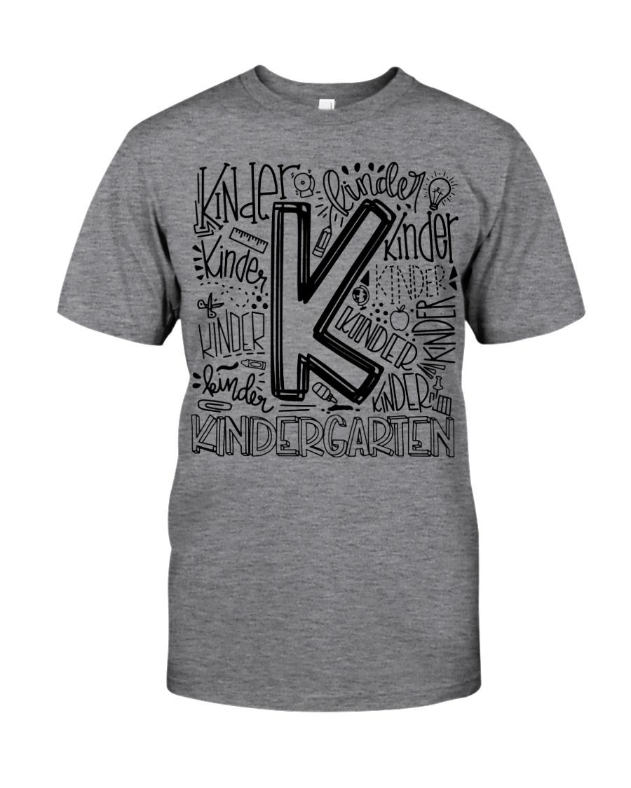 KINDERGARTEN TYPO Classic T-Shirt