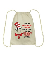 BE A 3RD GRADE TEACHER Drawstring Bag tile