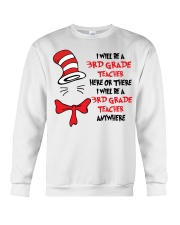 BE A 3RD GRADE TEACHER Crewneck Sweatshirt thumbnail