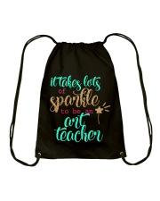 ART TEACHER Drawstring Bag thumbnail