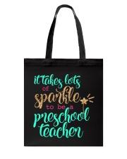 PRESCHOOL TEACHER Tote Bag thumbnail