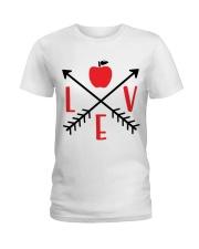 LOVE APPLE Ladies T-Shirt thumbnail