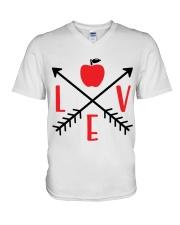 LOVE APPLE V-Neck T-Shirt thumbnail