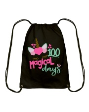 100 MAGICAL DAYS Drawstring Bag thumbnail