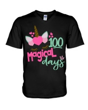 100 MAGICAL DAYS V-Neck T-Shirt thumbnail