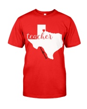 REDFORED TEXAS Classic T-Shirt front