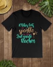 2ND GRADE TEACHER SPARKLE Classic T-Shirt lifestyle-mens-crewneck-front-18