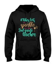 2ND GRADE TEACHER SPARKLE Hooded Sweatshirt thumbnail