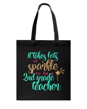 2ND GRADE TEACHER SPARKLE Tote Bag thumbnail