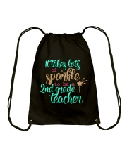 2ND GRADE TEACHER SPARKLE Drawstring Bag thumbnail