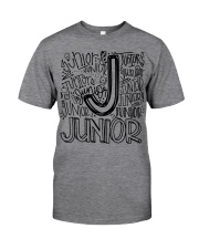 JUNIOR TYPOGRAPHY Classic T-Shirt front