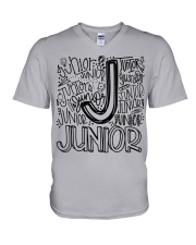 JUNIOR TYPOGRAPHY V-Neck T-Shirt thumbnail