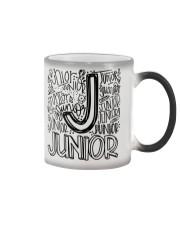 JUNIOR TYPOGRAPHY Color Changing Mug thumbnail