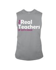 THE REAL TEACHERS OF SIXTH GRADE Sleeveless Tee thumbnail
