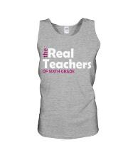 THE REAL TEACHERS OF SIXTH GRADE Unisex Tank thumbnail