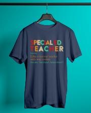 SPECIAL ED TEACHER Classic T-Shirt lifestyle-mens-crewneck-front-3