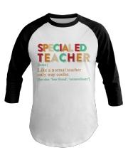 SPECIAL ED TEACHER Baseball Tee thumbnail