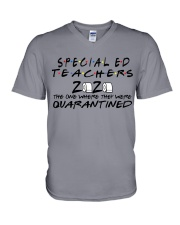 SPED  V-Neck T-Shirt tile