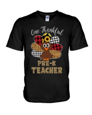THANKFUL PRE-K V-Neck T-Shirt thumbnail