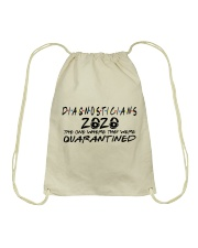 DIAGNOSTICIANS Drawstring Bag thumbnail