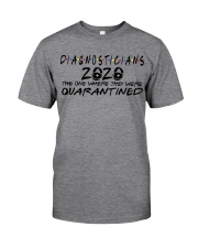 DIAGNOSTICIANS Classic T-Shirt front