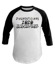 DIAGNOSTICIANS Baseball Tee thumbnail