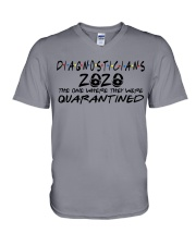 DIAGNOSTICIANS V-Neck T-Shirt thumbnail