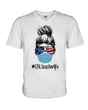 ENL 2020 LIFE V-Neck T-Shirt thumbnail