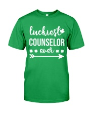 LUCKIEST COUNSELOR EVER Classic T-Shirt front