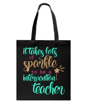 INTERVENTION TEACHER Tote Bag thumbnail