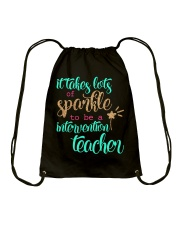INTERVENTION TEACHER Drawstring Bag thumbnail
