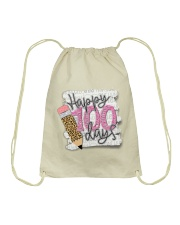 HAPPY 100 DAYS Drawstring Bag thumbnail