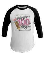 HAPPY 100 DAYS Baseball Tee thumbnail