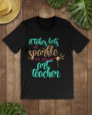 ART TEACHER SPARKLE Classic T-Shirt lifestyle-mens-crewneck-front-18