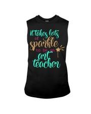 ART TEACHER SPARKLE Sleeveless Tee thumbnail