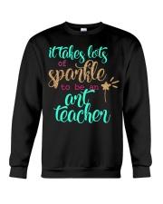 ART TEACHER SPARKLE Crewneck Sweatshirt thumbnail