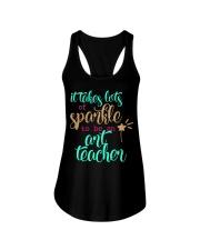 ART TEACHER SPARKLE Ladies Flowy Tank thumbnail