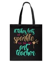 ART TEACHER SPARKLE Tote Bag thumbnail