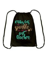 ART TEACHER SPARKLE Drawstring Bag thumbnail