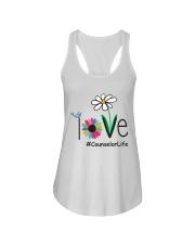 LOVE COUNSELOR LIFE Ladies Flowy Tank thumbnail