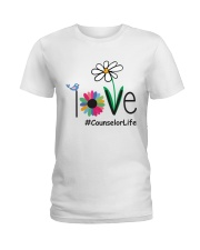 LOVE COUNSELOR LIFE Ladies T-Shirt front