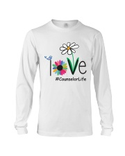 LOVE COUNSELOR LIFE Long Sleeve Tee thumbnail
