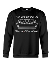 TEACH FROM HOME Crewneck Sweatshirt thumbnail