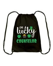 LUCKY COUNSELOR Drawstring Bag thumbnail